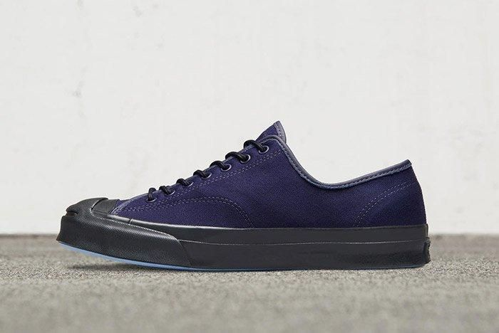 Converse Jack Purcell Signature Low Shield Canvas Navy 4