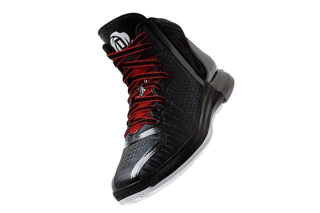 Adidas D Rose 4 Black 3