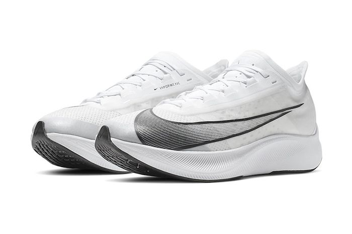 Nike Zoom Fly 3 White Black At8240 100 Release Date Pair