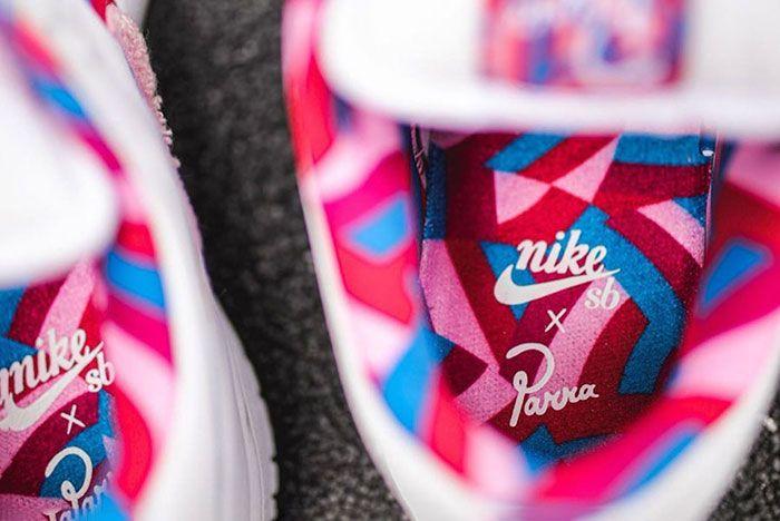 Parra Nike Sb Dunk Low Release Date 7 Insoles