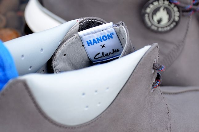 Hanon Clarks Traxter Ventile Inner Tongue Tag 1