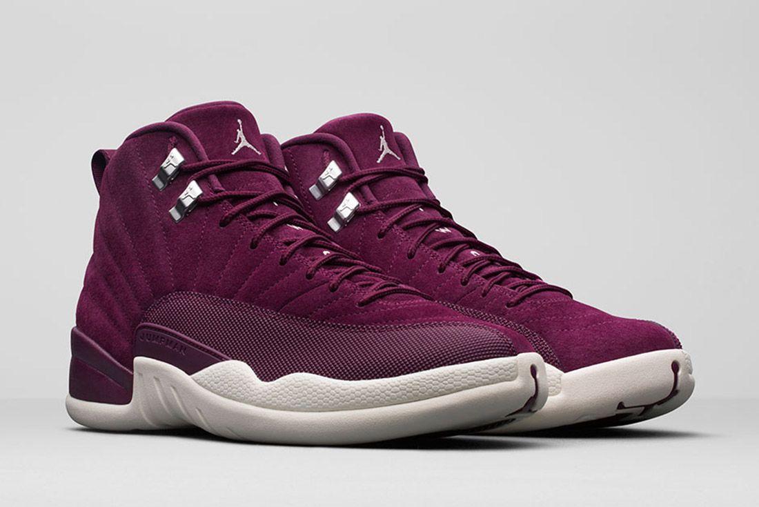 Air Jordan 12 Burgundy 1