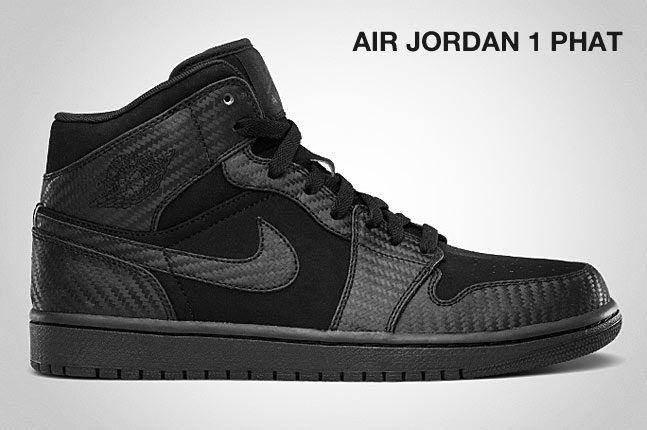 Air Jordan 1 Phat Black Carbon 1