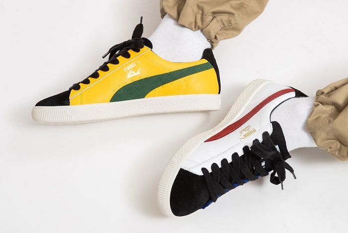 The Hundreds Puma Clyde Decades On Foot Top