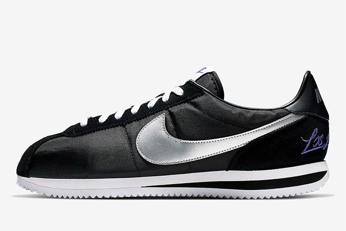 Nike Cortez Los Angeles Black Left