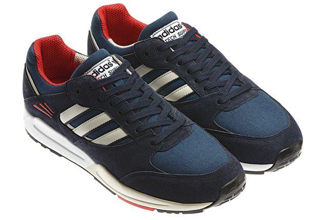 Adidas Tech Super Blue Quater 1