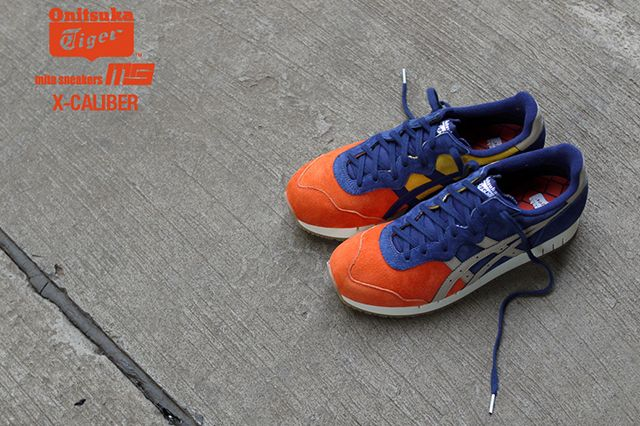 Mita Sneakers Onitsuka Tiger X Caliber Tequila Sunrise 1