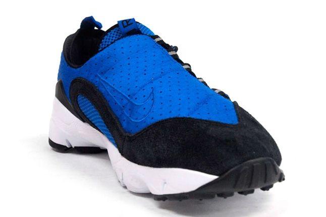 Nike Air Footscape Motion Blue Black Toe Quarter 1