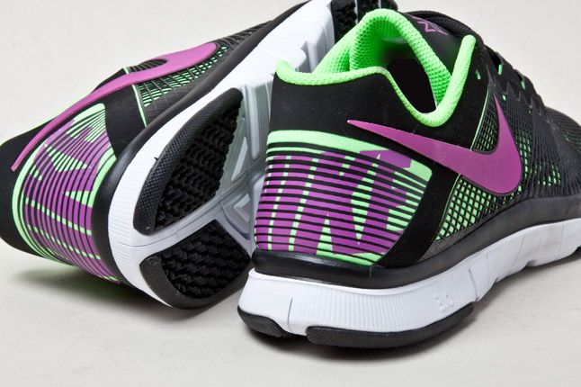 Nike Free Trainer 3 0 Mixed Grapes Heel 1