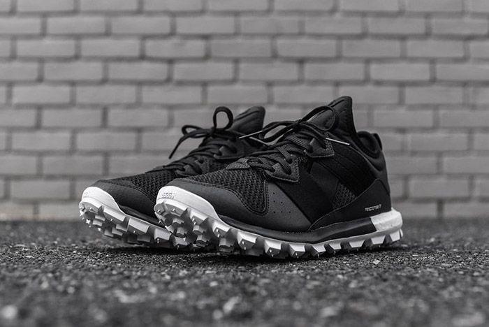 Adidas Response Trail Boost Black White 3
