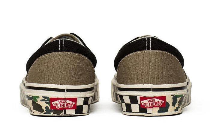 Vans Anaheim Era 95 Camo Tape Heels