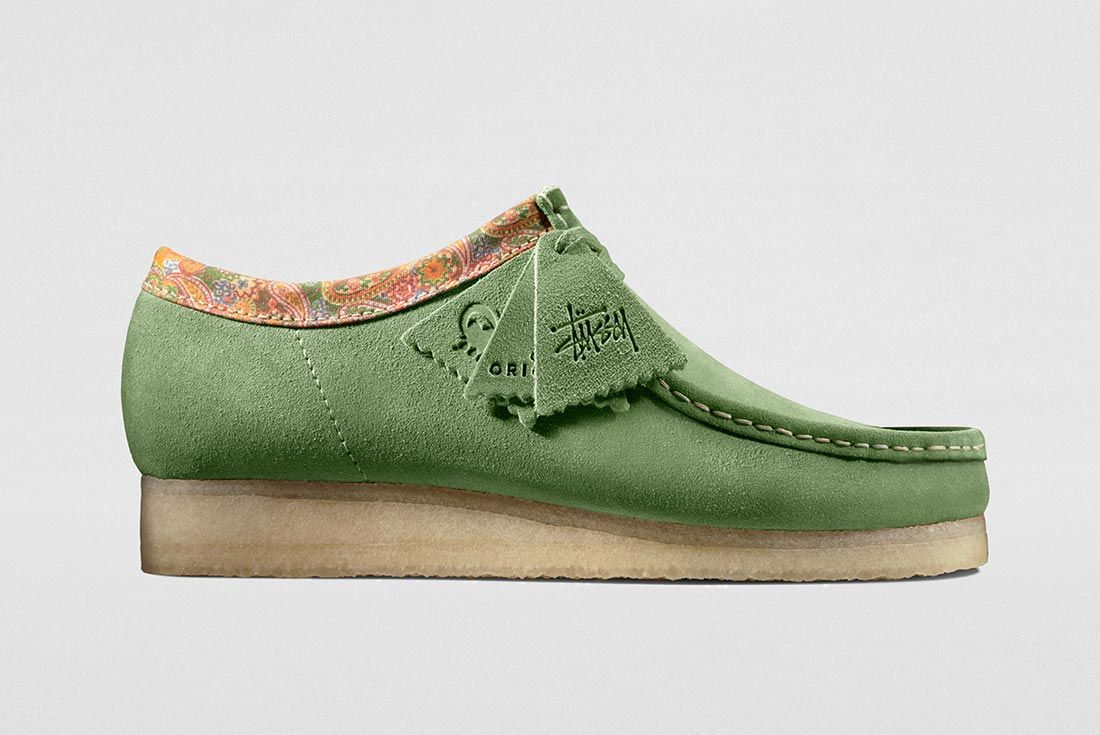 Stussy Clarks Wallabees Right Side Shot