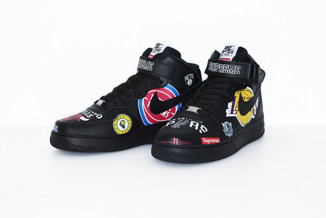 Supreme Nike Nba Air Force 1 High Sneaker Freaker 24