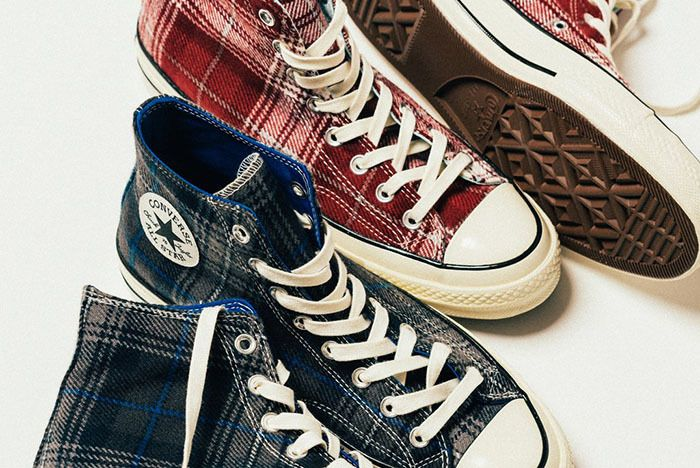 Converse Chuck Taylor All Star 70 Hi Plaid 5