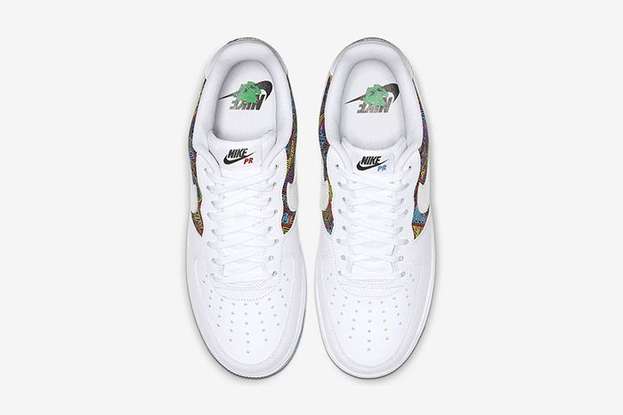 Nike Air Force 1 Low Puerto Rico Cj1620 100 Release Date Top Down