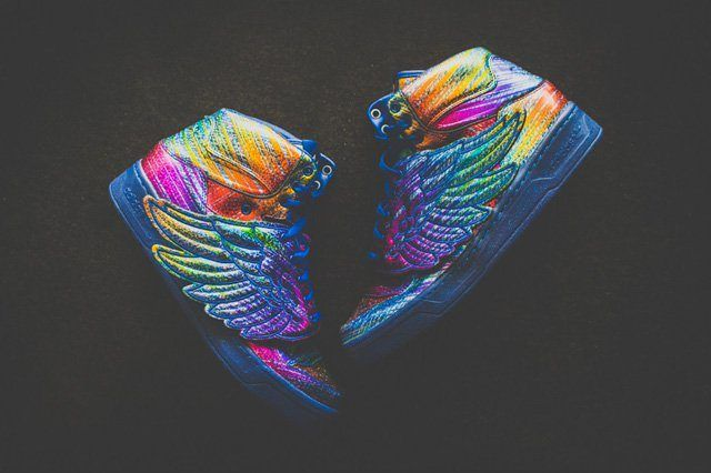Adidas By Jeremy Scott Wings Super Colour 7