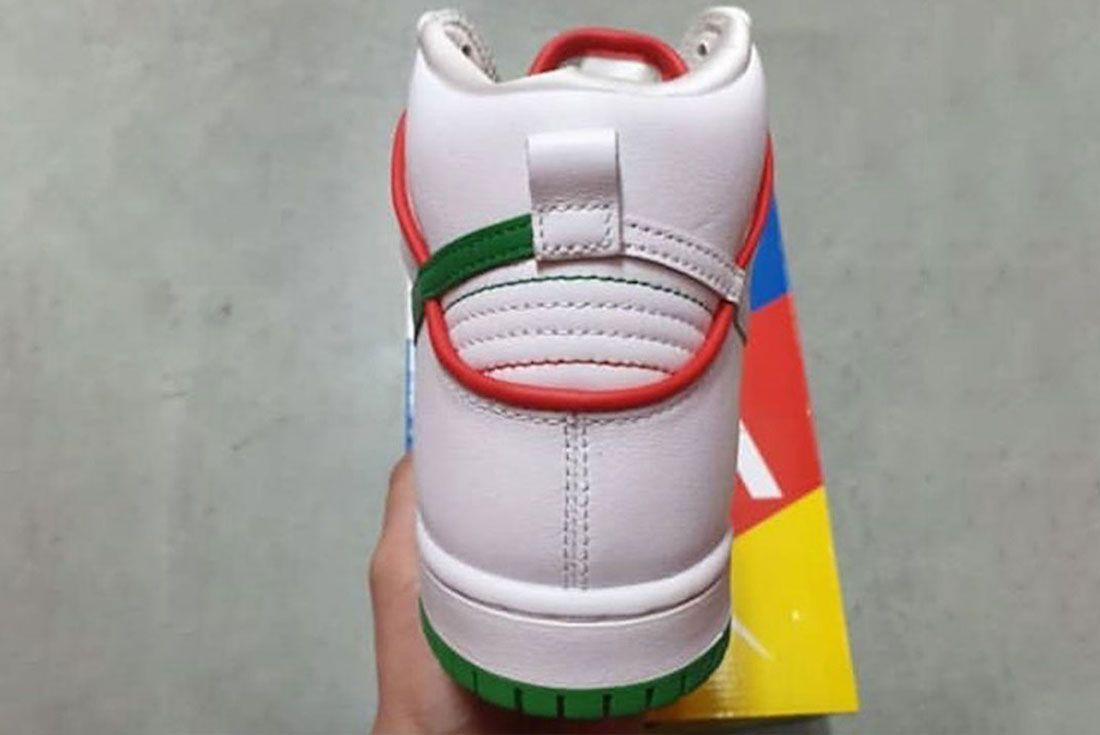 Paul Rodriguez Nike Sb Dunk High Boxing Release Date 3Leaked Shots
