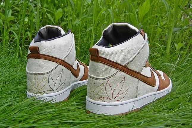 Jbf Customs Nike Dunk Sb Bob Marley Heel Profile