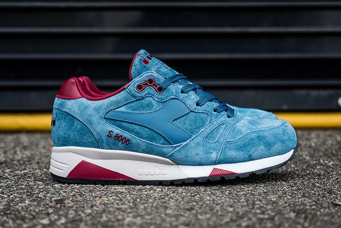 Diadora S8000 Made In Italy Ensign Blue 2
