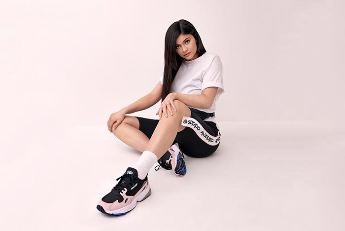 K Ylie Jenner X Adidas Falcon Release Date 11