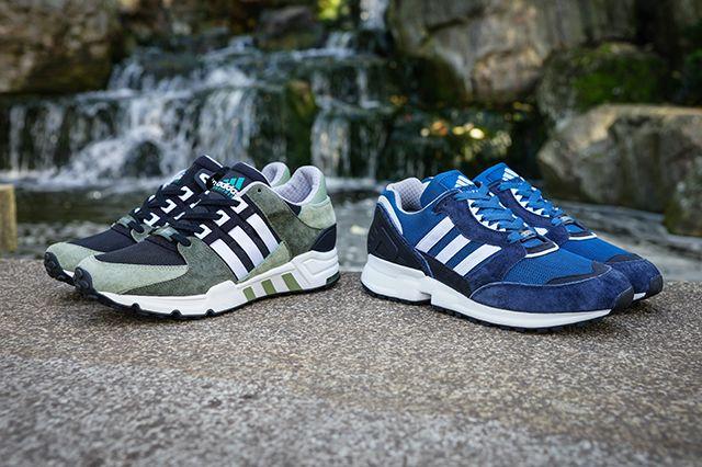 Adidas Originals Eqt Premium Suede Pack 16