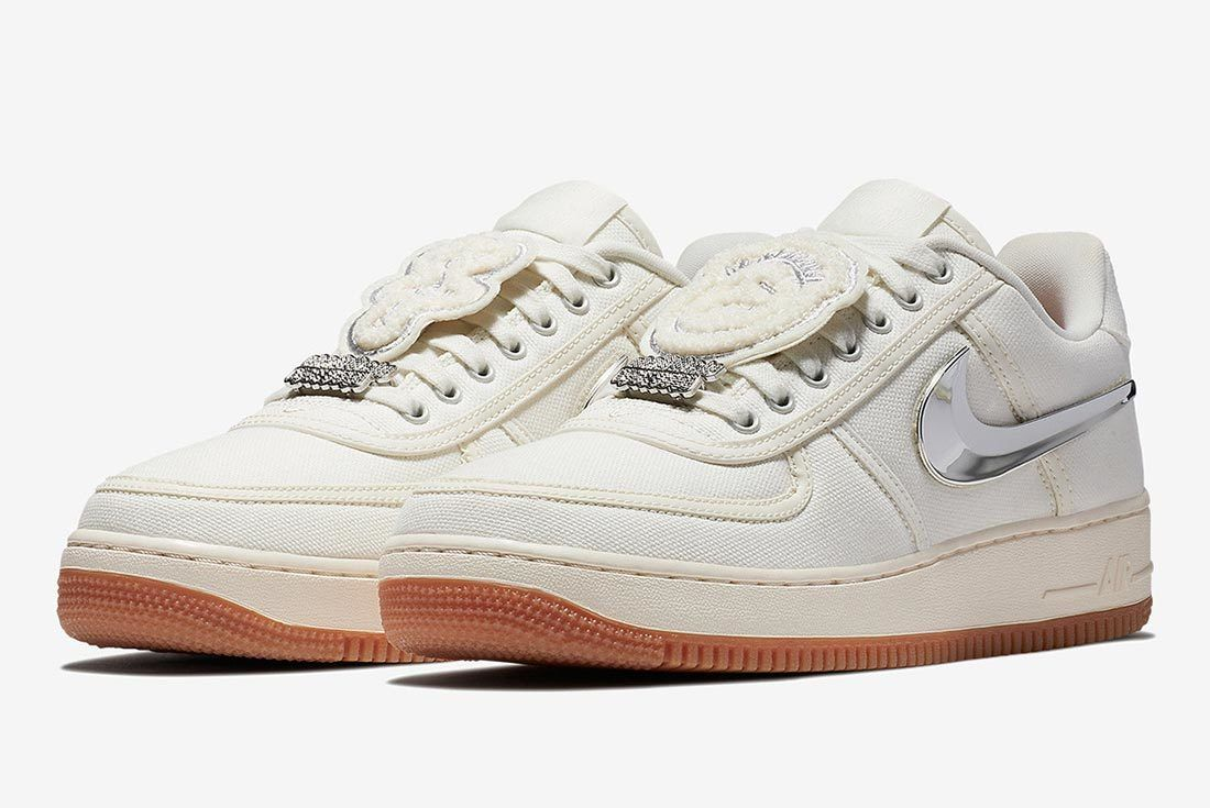 Travis Scott Nike Air Force 1 Sail Buy Guide