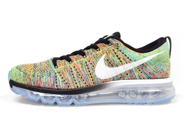 Nike Flyknit Air Max Multicolor1