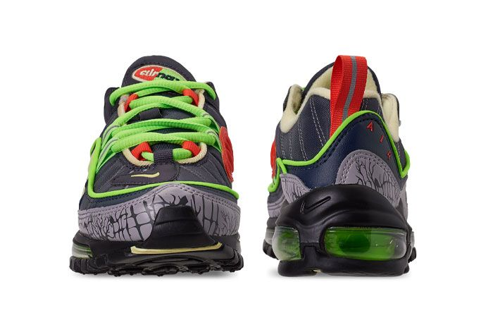 Nike Air Max 98 Halloween Ct1171 001 Front Rear