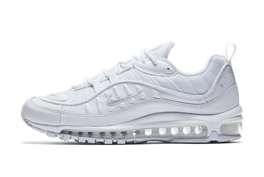 Nike Air Max 98 Triple White Sneaker Freaker 2