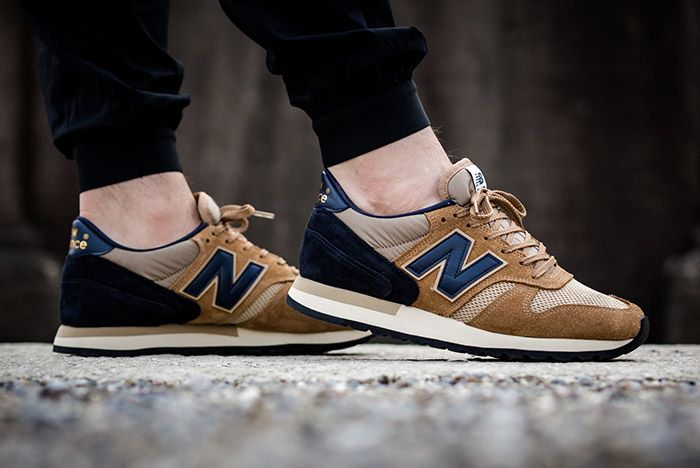 New Balance 770 Made In England Beige Navy 1