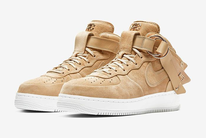 Victor Cruz Nike Air Force 1 Mid Snkrs Release 3