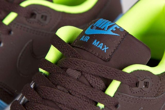 Nike Air Max 1 Baroque Brown Uni Blue 4