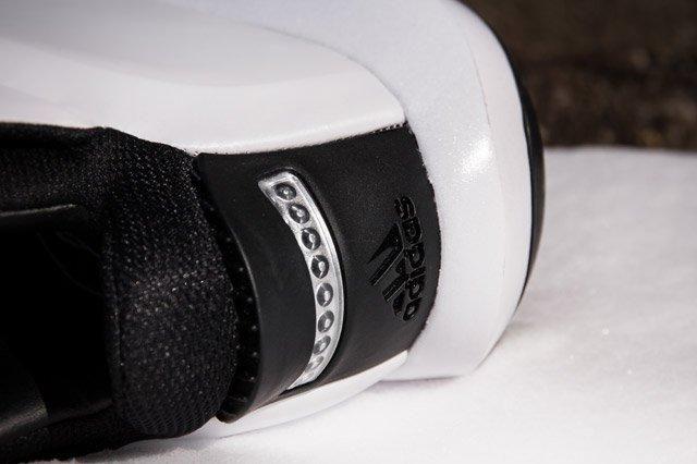 Adidas Crazy 1 White Heel