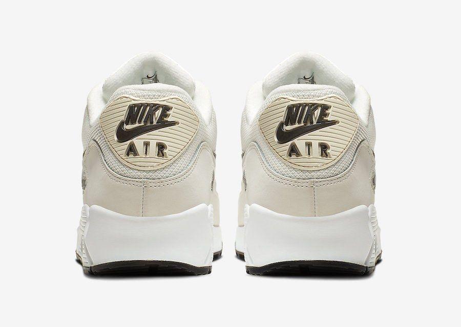 Nike Air Max 90 Essential Ivory Heel