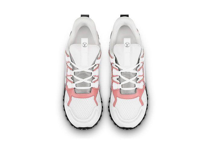 Louis Vuitton Run Away White Pink Top