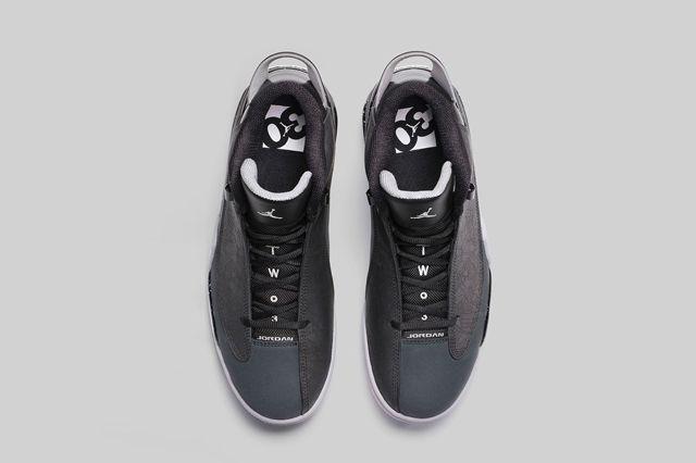 Jordan Dub Zero Classic Charcoal 6