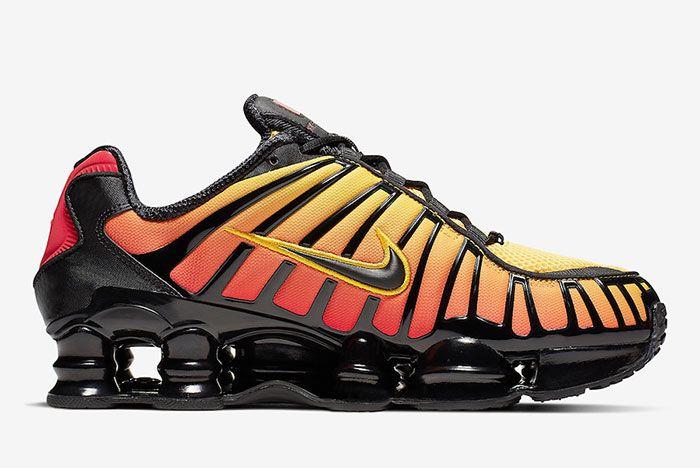 Nike Shox Tl Sunrise Av3595 004 Medial