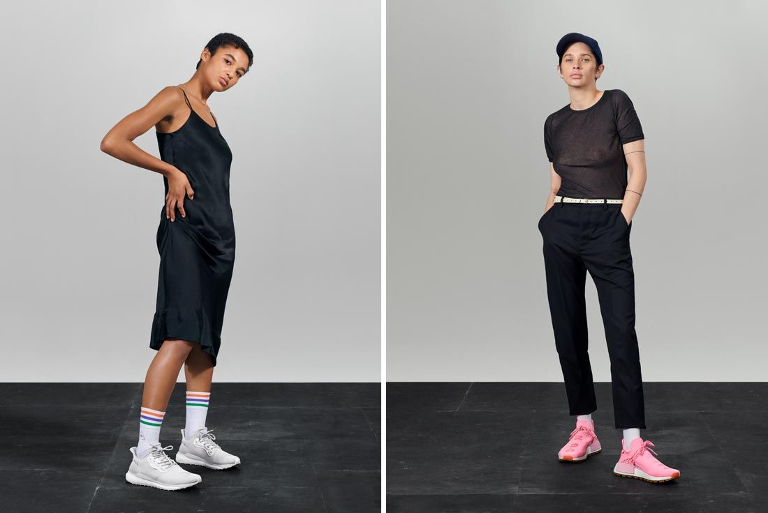 Adidas Now Is Our Time Campaign Standing Shots