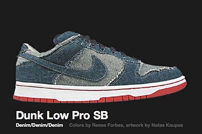 Nike Dunk Low Pro Sb Denim 2002 1