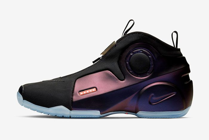 Nike Air Flightposite 2 Eggplant Cd7399 500 Lateral
