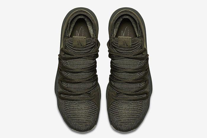 Nike Zoom Kd 10 Olive Green 4