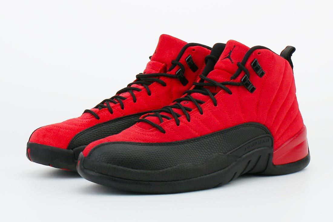 Air Jordan 12 'Reverse Flu Game'