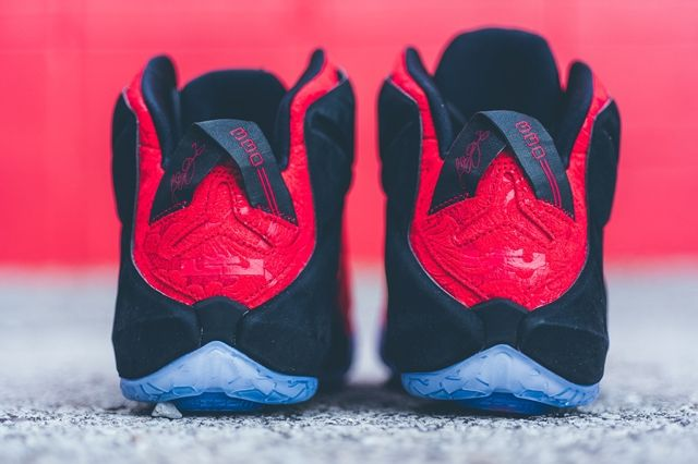 Nike Lebron 12 Ext Red Paisley 5