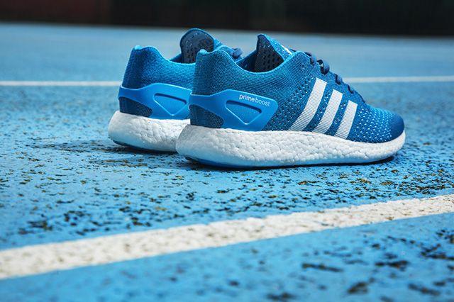 Adidas Primeknit Pure Boost Solar Blue 4