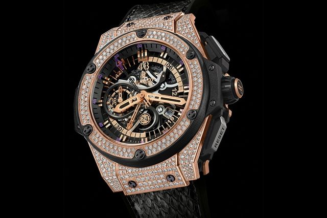 Kobe Bryant Hublot King Power Black Mamba King Gold 1