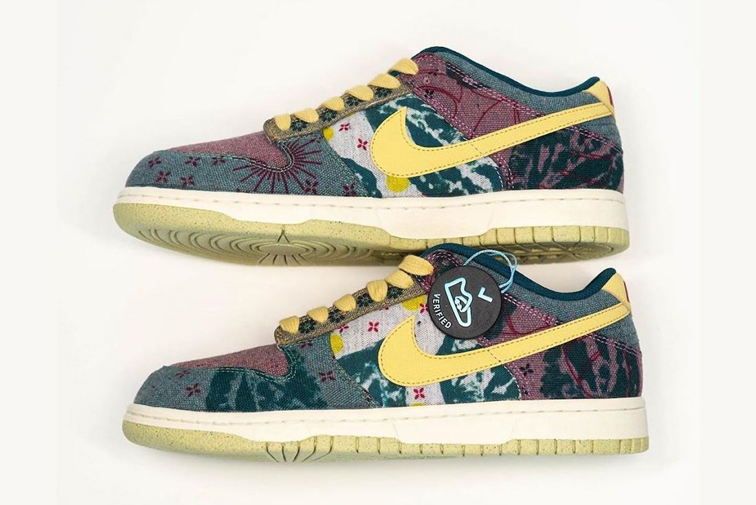 Nike Dunk Low Lemon Wash Left
