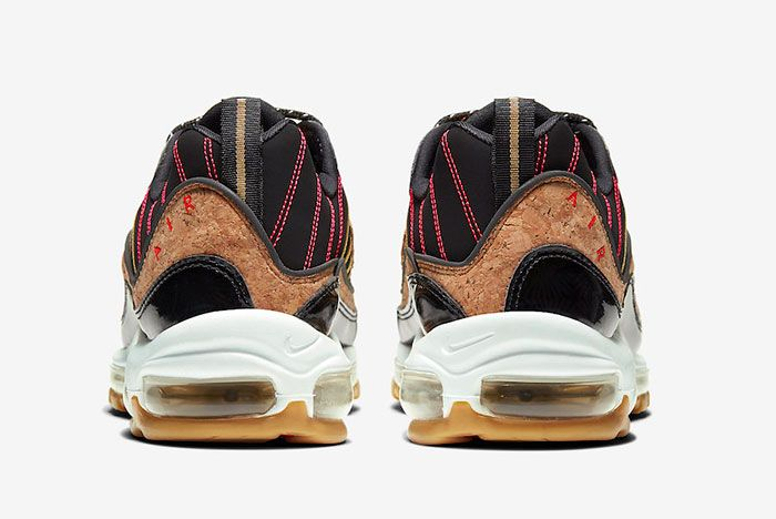 Nike Air Max 98 Cork New Years Ct1173 001 Heels