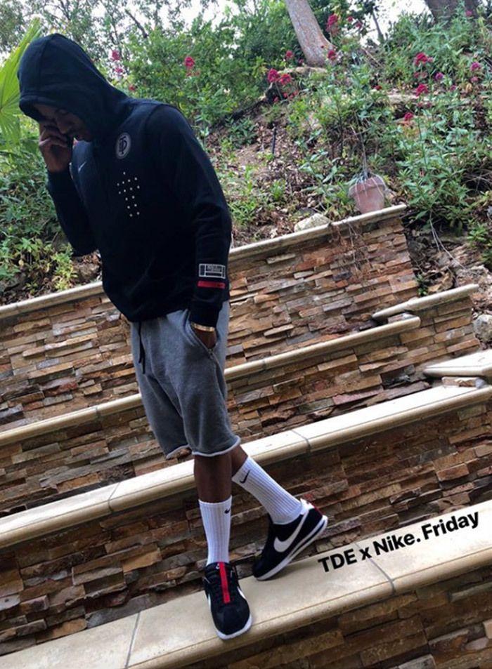 Kendrick Lamar X Nike Cortez 3 2