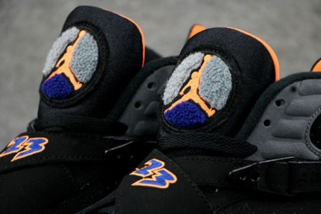 Air Jordan 8 Suns Tongue Detail 1