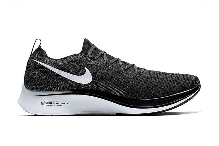 Nike Zoom Fly Flyknit White Black 5